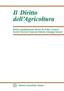 Il Diritto dell'Agricoltura