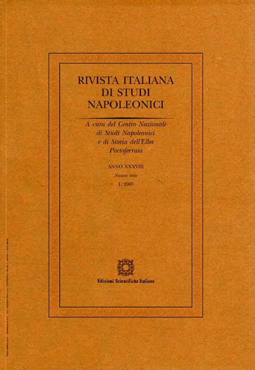 Rivista italiana di studi napoleonici