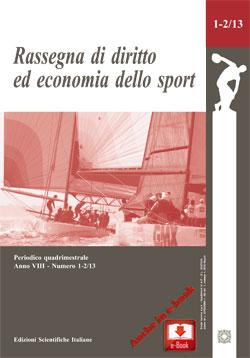 Rassegna di diritto ed economia dello sport