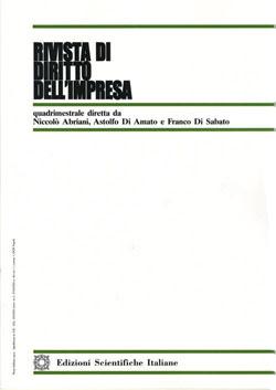Rivista di diritto dell'impresa 2000