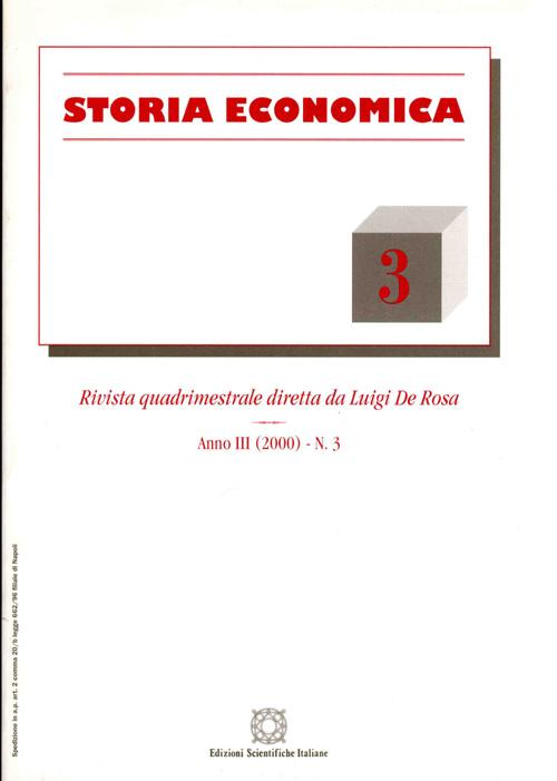 Storia Economica 2000