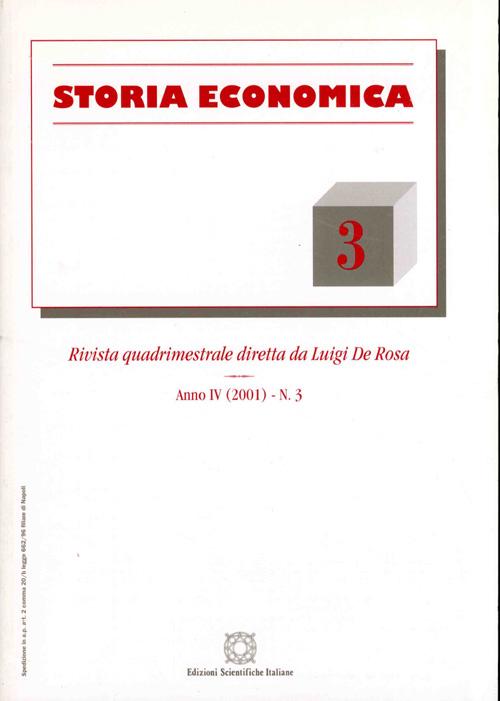 Storia Economica 2001