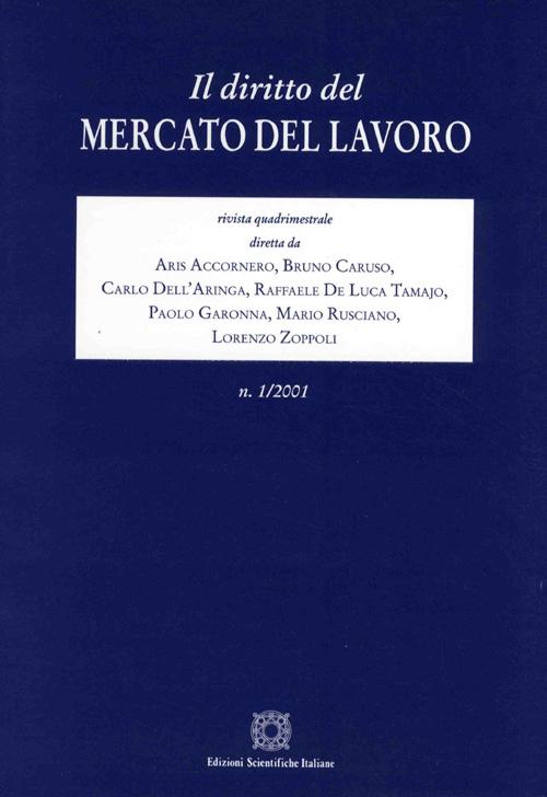Diritto del Mercato del Lavoro 2001