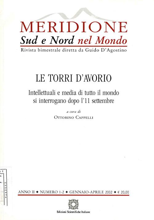 Meridione Sud e Nord Nel Mondo 2002