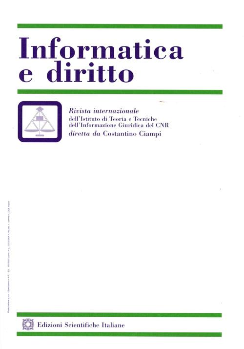Informatica e Diritto 2002