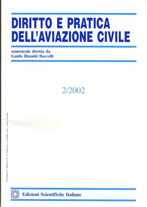 Diritto e Pratica dell'Aviaz. Civ. 2002