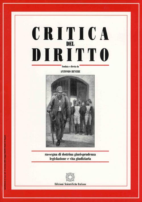 Critica del Diritto 2002