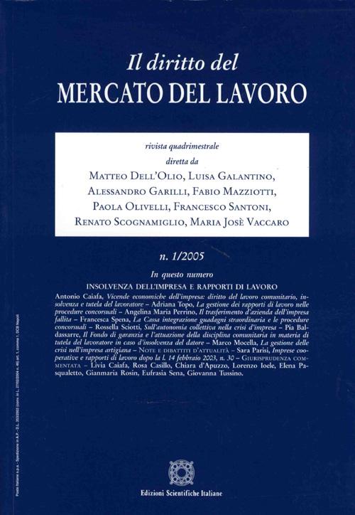 Il Diritto del Mercato del Lavoro 2003