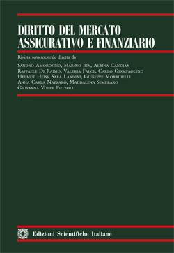 Diritto del mercato Assicurativo e Finanziario