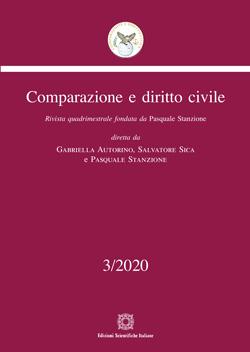 Comparazione e diritto civile 3/20